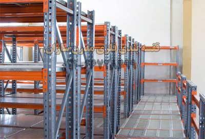قفسه بندی فلزی پانل راک